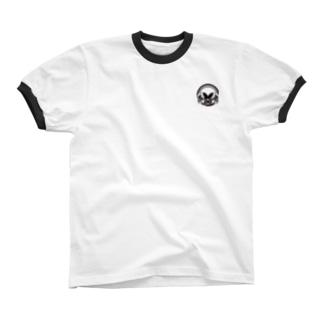 logo +¥500 Ringer T-shirts