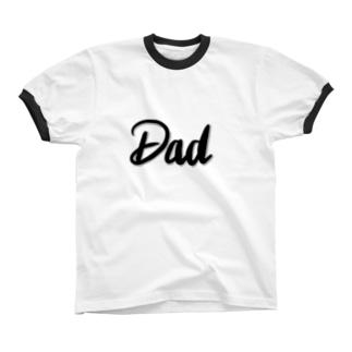 Dad リンガーTシャツ