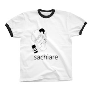 サチアレ.solo リンガーTシャツ