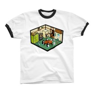 ペンギンチ Ringer T-shirts