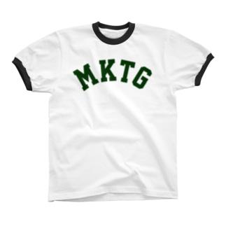 MKTG(緑) Ringer T-shirts