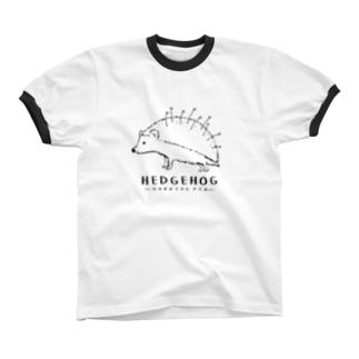 マチバリネズミ リンガーTシャツ