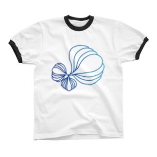 Artxgreen2018 リンガーTシャツ