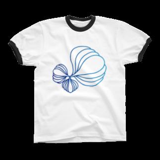 KatsuのArtxgreen2018 リンガーTシャツ