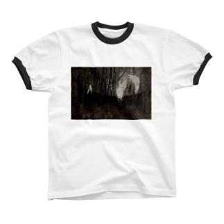 境界 リンガーTシャツ