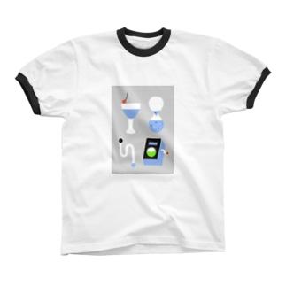 drawing リンガーTシャツ