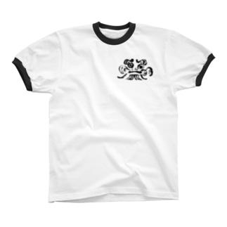 daruma Ringer T-shirts