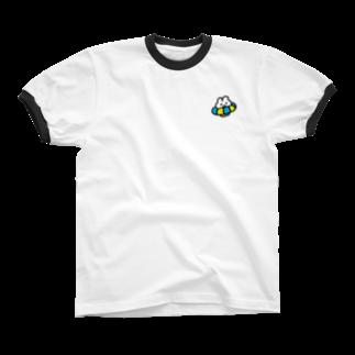 やさしいうさぎのサマータイム リンガーTシャツ