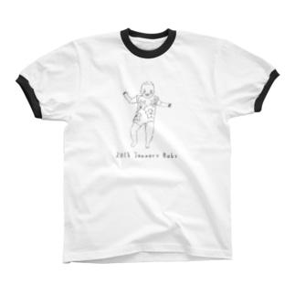 baby021 Ringer T-shirts