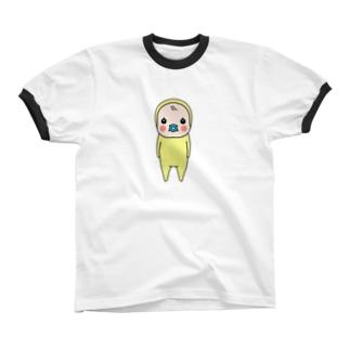めめたん(小) リンガーTシャツ