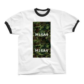 M16A4 リンガーTシャツ