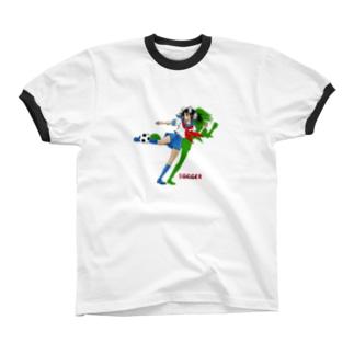 サッカーJK-A リンガーTシャツ