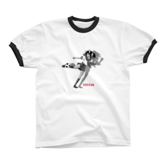 サッカーJK-C リンガーTシャツ