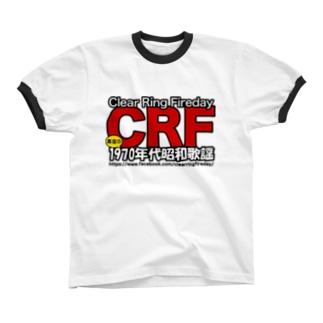 70年代 昭和歌謡 CRF リンガーTシャツ