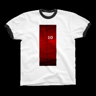 【アメリカン★ベース】             Tシャツ、マグカップ、ステッカー、缶バッチ、カバン・・・・人とはかぶらない、オリジナルデザインがいっぱいあります。是非チェックしてみてください。いいね・ツイートよろしくお願い致します。の10 リンガーTシャツ