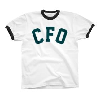 CFO(ビリジアン) Ringer T-shirts