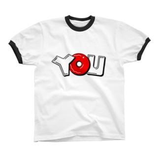you リンガーTシャツ