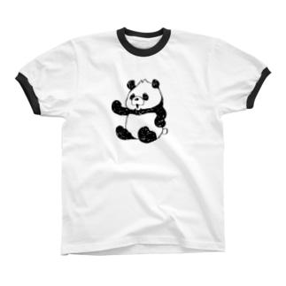 パンドゥ_1 リンガーTシャツ