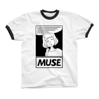 AgirlZ_M リンガーTシャツ