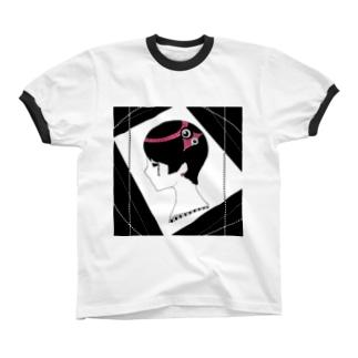 low リンガーTシャツ