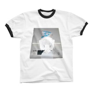 ひゃ– リンガーTシャツ