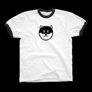 柴道楽のSHIBADORAKU Ringer T-shirts