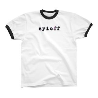 syioff リンガーTシャツ