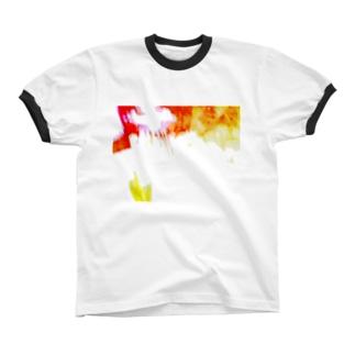 ばくはつ! Ringer T-shirts