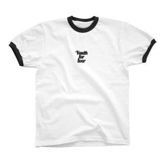 Youthforever_Black リンガーTシャツ
