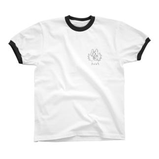 ふくつう Ringer T-shirts