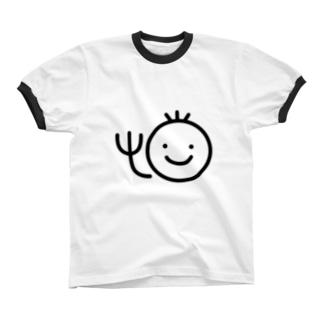 金剛龍司のTシャツ リンガーTシャツ