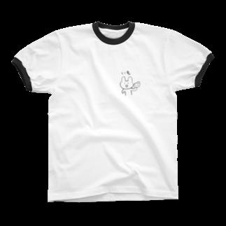 どせいのわっかのいもうさぎ Ringer T-shirts