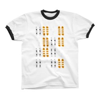 CHIN-ANAGO2 リンガーTシャツ
