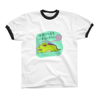 おふざけの正当化 リンガーTシャツ