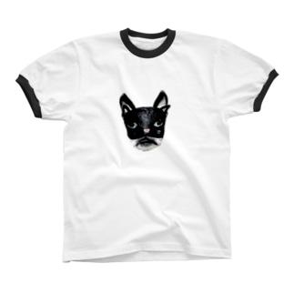 むにむに仮面 リンガーTシャツ