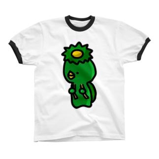 かっぱくん! リンガーTシャツ
