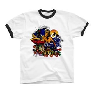FUNKY MOTEL リンガーTシャツ