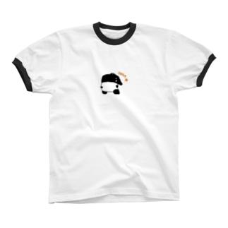 バクちん リンガーTシャツ