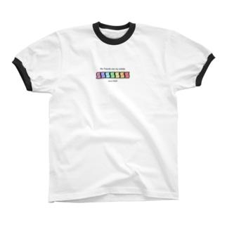 3の3グッズ Ringer T-shirts