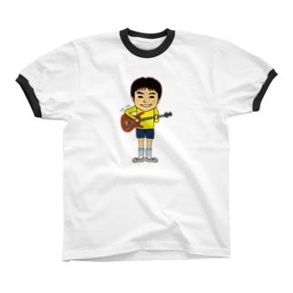 潤さんBASS リンガーTシャツ