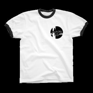 クロマキバレットのクロブラ Ringer T-shirts