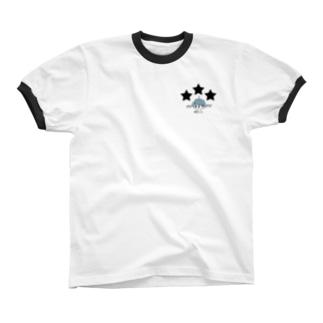 TETEMARU★ Ringer T-shirts
