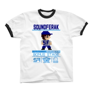 SF sound brothers Ringer T-shirts