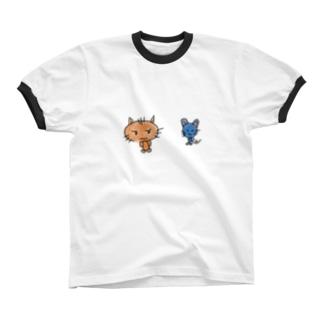 なかよし 01 Ringer T-shirts