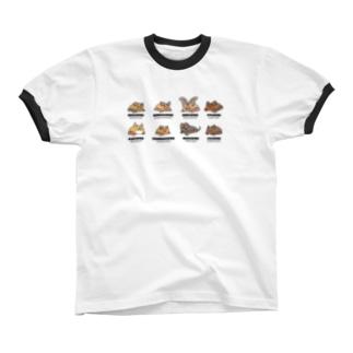 Bat Company(カラー) リンガーTシャツ