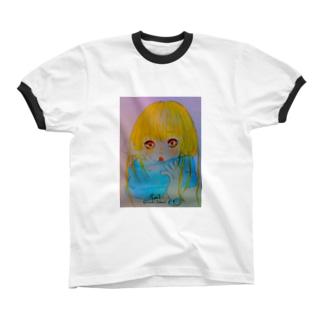 muffler リンガーTシャツ
