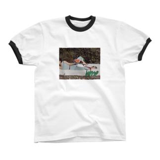 ninamyoneすいかグッズ リンガーTシャツ
