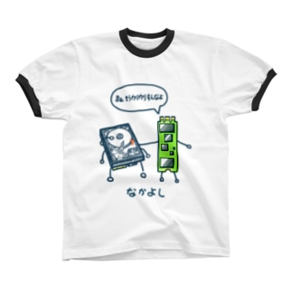 なかよし( HDD&M.2SSD ) リンガーTシャツ