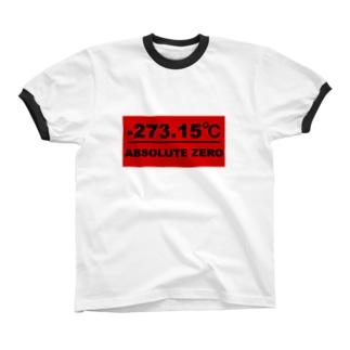 絶対零度(赤プレートタイプ) リンガーTシャツ
