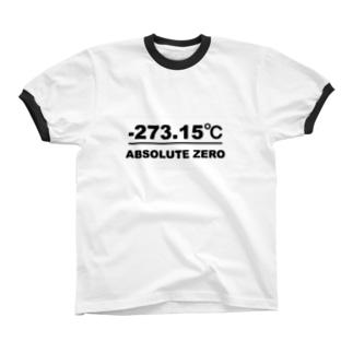 絶対零度(白プレートタイプ) リンガーTシャツ